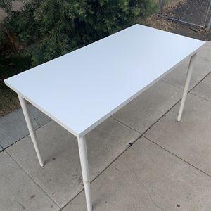 IKEA White Desk Workstation Tabletop for Sale in Riverside, CA