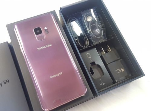 Samsung galaxy S9 - factory unlocked with box and accessories -30 days warranty