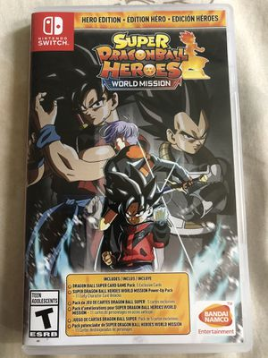 Super Dragon Ball Heroes (Switch) for Sale in Dallas, TX