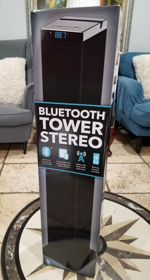 Innovative Technology - Bluetooth Tower Speaker - Black .nueva... for Sale in Los Angeles, CA