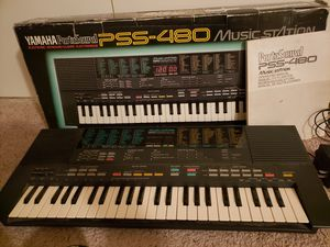 Yamaha porta Sound PSS-480 Music Station Keyboard W/ Sheet Music And Manual for Sale in Scappoose, OR