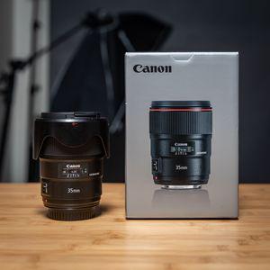 Canon EF 35mm f/1.4L II USM Lens for Sale in Fremont, CA