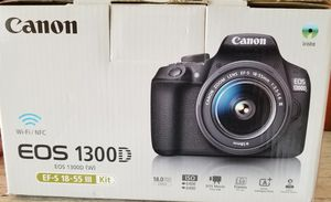 Canon Eos 1300D Camera for Sale in Fort Leonard Wood, MO