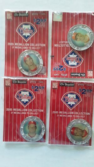 2005 Phillies Commemorative Coins. 15. for Sale in Philadelphia, PA
