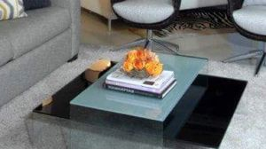 Modern glass coffee table for Sale in West Palm Beach, FL