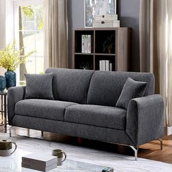 MODERN GRAY LINEN SOFA COUCH - SILLON for Sale in San Diego,  CA