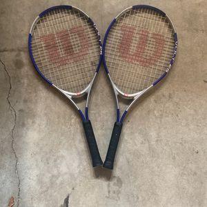 Wilson tennis rackets for Sale in Hacienda Heights, CA