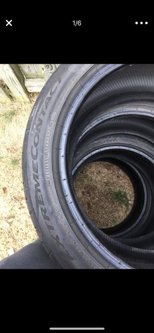 Continental extreme tires for Sale in Manassas, VA