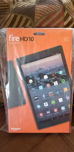 Fire HD10 Tablet for Sale in Bedford, VA