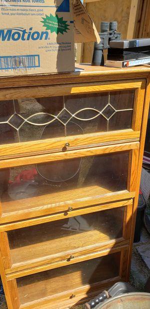 Glass bookshelves for Sale in Winton, CA