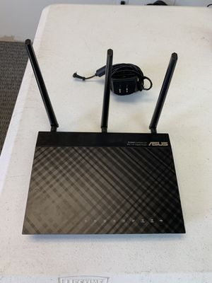 ASUS router - dual band 3x3 4 port for Sale in Mesa, AZ