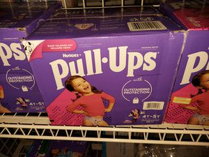 HUGGIES PULL UPS 4T5T 56 COUNT for Sale in Las Vegas, NV