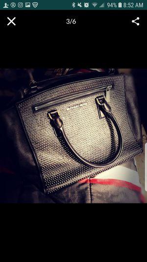 Vintage, Large black studded Michael Kors satchel. for Sale in Avondale, AZ