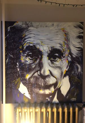 Einstein painting for Sale in Wenatchee, WA