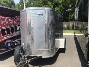 2017 Mint Condition 5 x 8 Enclosed Trailer for Sale in Groveland, FL