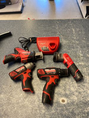 Milwaukee M12 combo for Sale in Arlington, TX