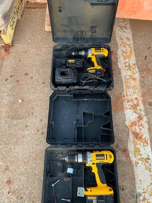 Drills 18 and 14.4 volts for Sale in Oklahoma City, OK