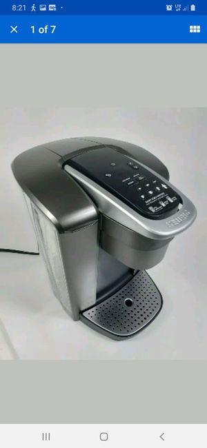 Keurig K-Elite Coffee Maker With Iced Coffee Capabilities. K-Cup Brushed Silver for Sale in Henderson, NV