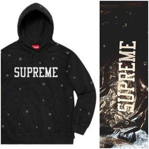 Supreme Eyelet Hooded Sweatshirt for Sale in Ashburn, VA