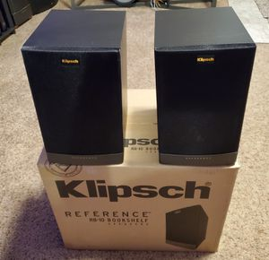 Klipsch RB-10 Bookshelf Speakers Pair for Sale in Renton, WA