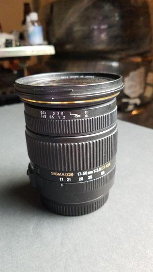 Sigma 17-50mm f2.8 for Sale in San Gabriel, CA