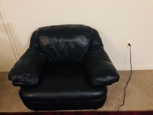 Leather couch for Sale in Annandale, VA
