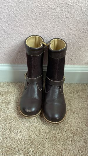 Janie and jack toddler boots size 8 for Sale in St. Augustine, FL