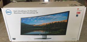 "Dell UltraSharp U3415W 34"" Curved LED Monitor for Sale in Chandler, AZ"
