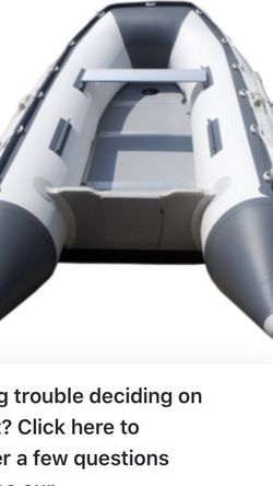 Boat 8ft Inflatable Dingy Not A Cheap One for Sale in Mooresville,  IN
