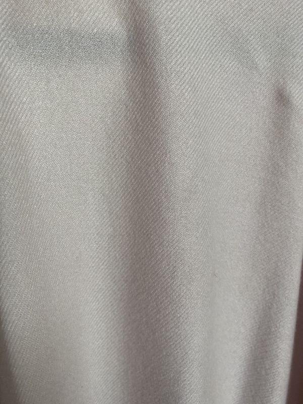 Beautiful Blush cape/shawl with silver studs & fringe, never worn, Adrienne Vitadini, fits plus size too
