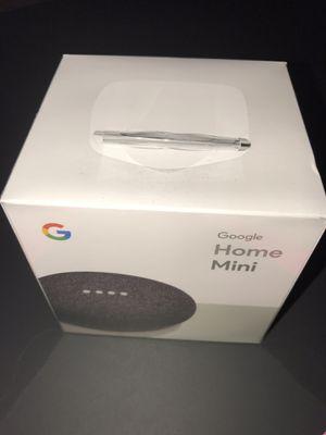 Brand New Google Home Mini Gray Bluetooth Speaker Personal Assistant for Sale in Alexandria, VA