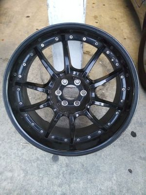 """20"""" black rims/6 bolts for Sale in Anaheim, CA"""