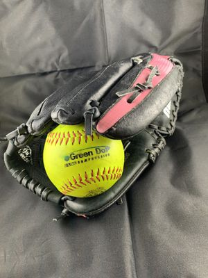 Softball glove and ball for Sale in Mount Laurel Township, NJ