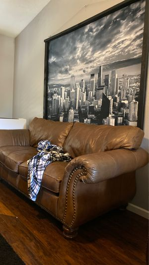 Couches and Recliner (city picture not included) for Sale in Chandler, AZ