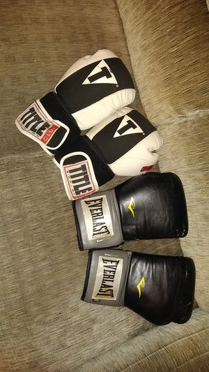 2 pairs boxing gloves. Training for Sale in Lewisville, TX