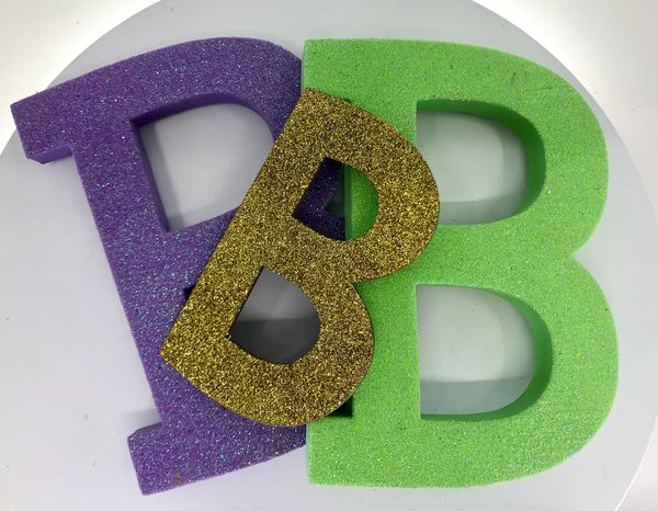 Letters B for a party or a project!