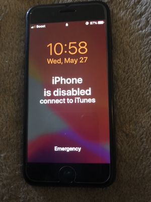 iPhone 7 from boost mobile for Sale in Fresno, CA
