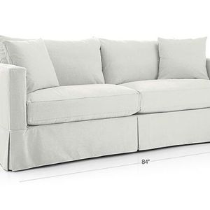 White Crate & Barrel Couch for Sale in West Hollywood, CA
