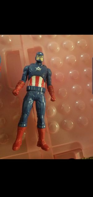 Captain America action figures and spider plush for Sale in Baltimore, MD