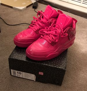 Red air Jordan retro lab 4s for Sale in Pittsburgh, PA