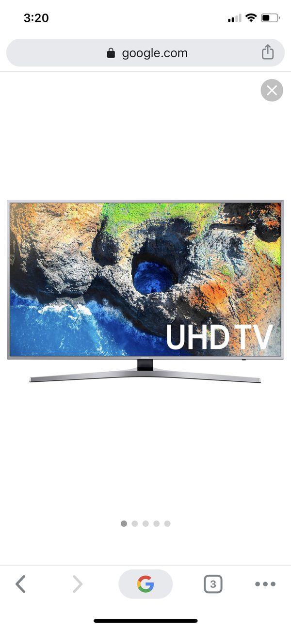 """Samsung 7 Series UN65MU7000F - 65"""" LED Smart TV - 4K UltraHD"""