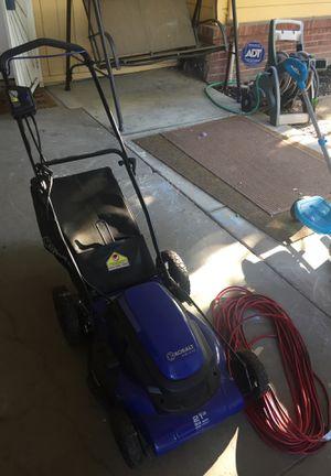 Kobalt KM 210 120v Corded Electric Lawnmower for Sale in Stockton, CA
