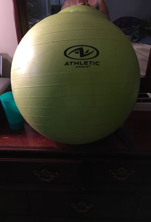 Athletic workout ball for Sale in Brodnax, VA