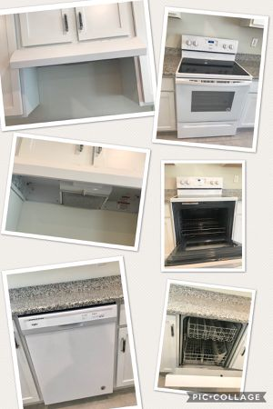 Electric stove glass top, dishwasher and range hood for Sale in Tampa, FL