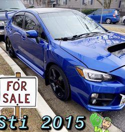 Subaru STI 2015 !!!!!!! Rebuild !!!!! for Sale in Mount Rainier,  MD