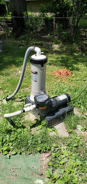 Hayward 1.5 HP pump with canister for Sale in Strongsville, OH
