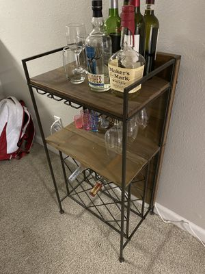 Side bar 3.5 feet tall and 14 inches depth for Sale in Tigard, OR
