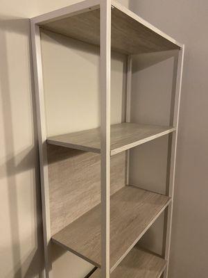 Rustic White Wash Bookcase for Sale in Alpharetta, GA