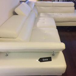 ♦️▶️Antares White Modern Sectional | U7101 by Global ☑️New Brand ⚡👁️🗨️ for Sale in Silver Spring,  MD