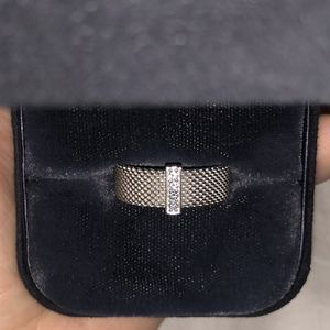 Tiffany & Co. Somer Set Mesh and Diamond Ring for Sale in Washington, DC